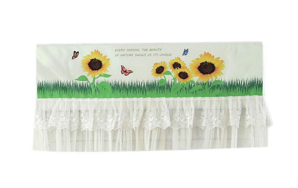 Home Restaurant Dustproof Air Conditioner Cover, Sunflowers
