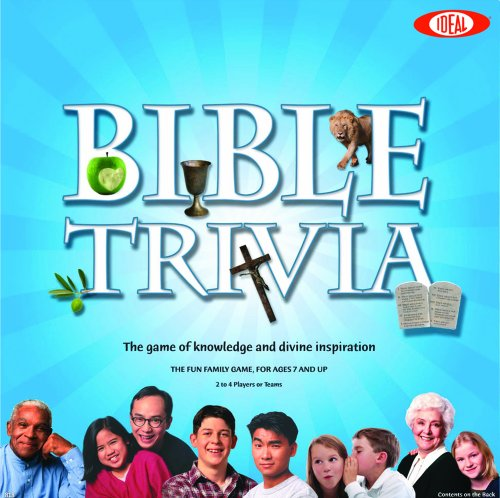 Ideal 0C818 Bible Trivia Game
