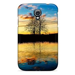Faddish Phone Autumnal Sun Case For Galaxy S4 / Perfect Case Cover