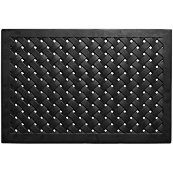 Amazon Com Nach Braided Rubber Doormat Large Outdoor