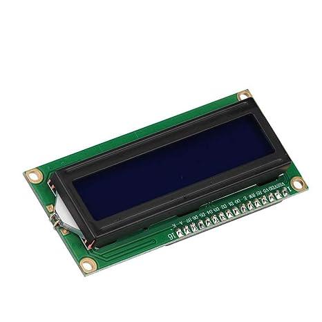 Amazon.com: PinShang DLP 1602 - Módulo de pantalla LCD para ...