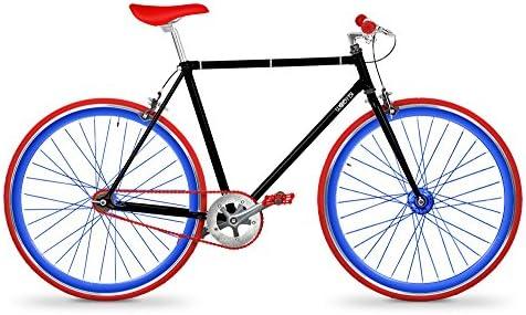 wobybi Bicicleta Fixie Soho Black: Amazon.es: Deportes y aire libre