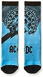 Legends printed Rock StarACDCKISSAEROSMITHnovelty socks, AC/DC Blue Crew, One Size offers