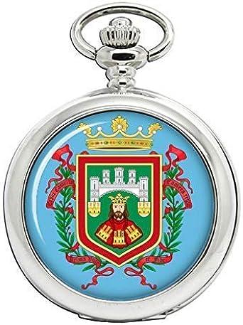 Burgos (España) Full Hunter reloj de bolsillo: Amazon.es: Relojes