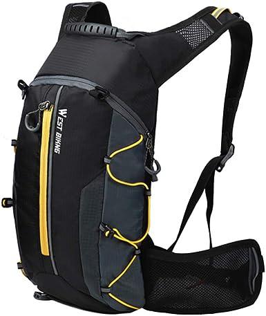 belupai - Mochila impermeable, ideal para ciclismo, escalada y montañismo, transpirable, 10 l, ultraligera, perfecta para hidratación
