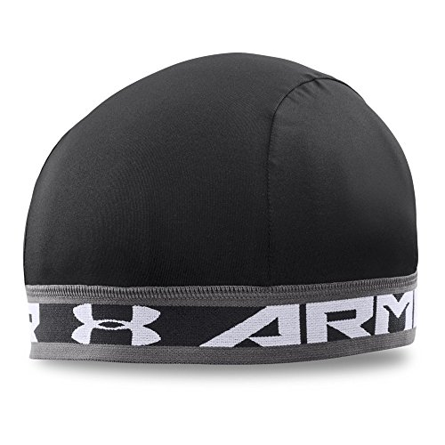 (Under Armour Men's Original Skull Wrap, Black /White, One Size)