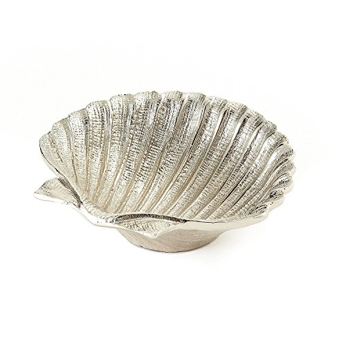 Elegance Nickel Plated Aluminium Shell Dish, 5.5