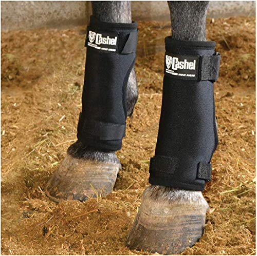 - Cashel Stall Sore Boots for Horses - Medium 9 inches High (Pair)