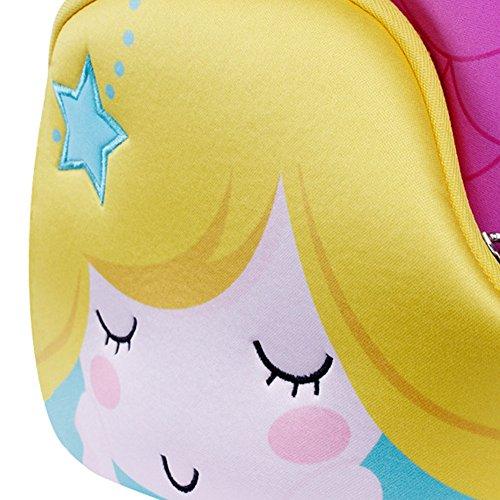 School Waterproof Backpack Preschool Bag Pink1 3D Cat Kids Toddler Animal Cute Children Alnaue 4wqFpzW