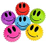 3'' SMILE FACE KNOBBY BALL, Case of 288