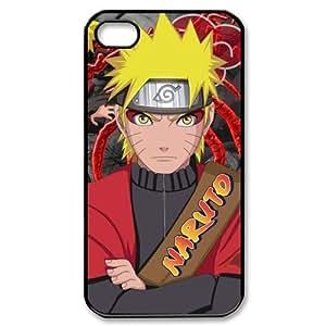 Custombox Uzumaki Naruto Iphone 4/4s Case Plastic Hard Phone case-iPhone 4-DF00506