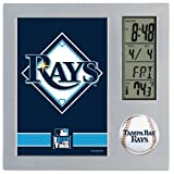 MLB Tampa Bay Rays Digital Desk Clock