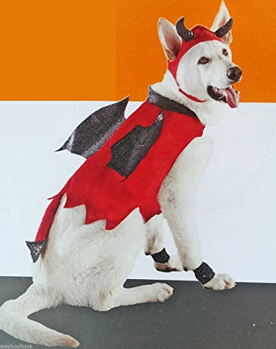 Devil Dog Pet Halloween Costume X-small - Devil Costume For Dogs