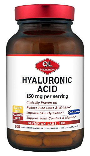 Olympian Labs Hyaluronic Acid 150 mg. 100 veg caps/ 33 servings by Olympian Labs (Image #4)