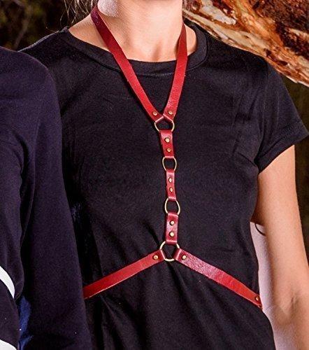 Arnés Draenei cuero moda mujer, Leather harness Draenei: Amazon.es ...