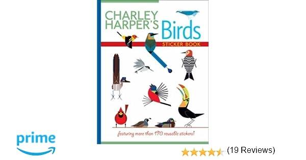 Charley Harper\'s Birds Sticker Book: Charley Harper: 9780764965135 ...