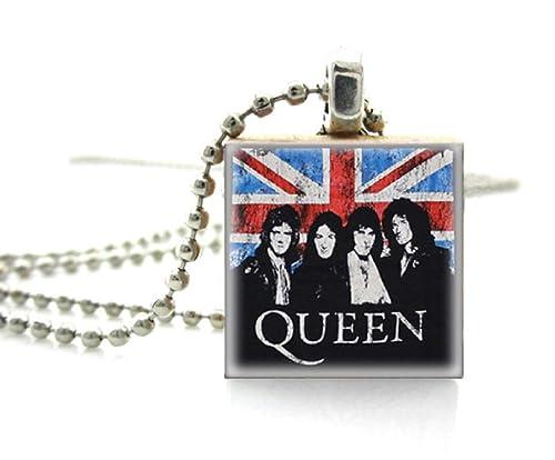 Amazon.com: Queen & Freddie Mercury collar de 17.7 in es ...