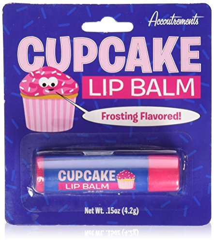 Cupcake Lip Balm Frosting Dessert Flavored Scented Novelty Gift by -