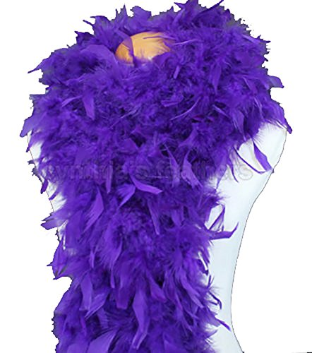 (Cynthia's Feathers 80g Chandelle Feather Boa(Regal)