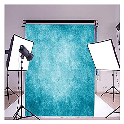 FUT 3-5 Business Days FAST Delivery Ocean Blue Vinyl Backdrop Background Ideal for Wedding, Party, Newborn, Children, and Product Photography, Video Backdrops or Displays 5x7ft