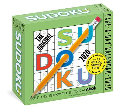 (The Original Sudoku Page-A-Day Calendar 2020)
