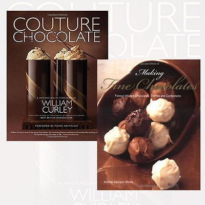 Making Fine Chocolates and Couture Chocolate 2 Books Bundle Collection - Flavour-infused Chocolates, Truffles and Confections,A Masterclass in Chocolate by Andrew Garrison Shotts (2016-06-07)