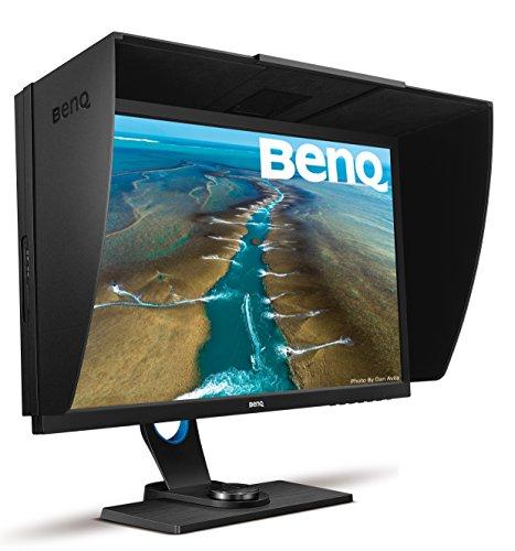 BenQ 27 inch 2K Photographer Monitor (SW2700PT), 2560x1440 QHD, 99% Adobe RGB, 100% Rec.709/sRGB color space, Hardware Calibration, 14-bit 3D LUT, HDMI 1.4, OSD Controller, 60Hz refresh rate
