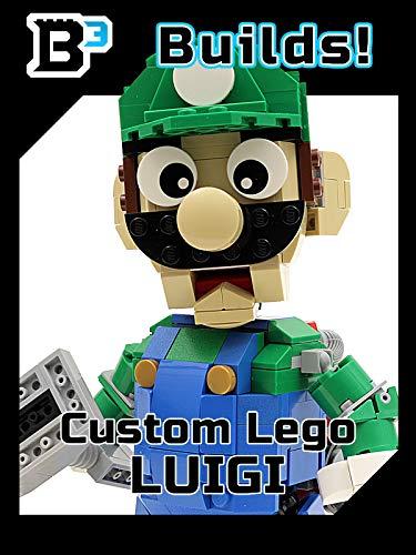 B3 Builds! Custom LEGO Luigi Figure (Custom Mario Lego)