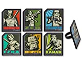 DecoPac Star Wars Rebels Regiment Rings (12 Count)