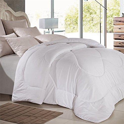 Versailles V-Luxe Duvet Microfiber King Comforter in White - Versailles Quilt
