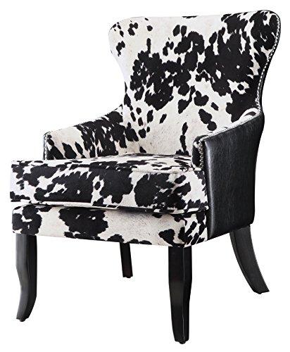 Coaster Cowhide Print Accent Chair