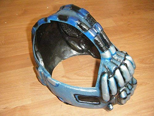 WRESTLING MASKS UK Wrestling Masks UK - Bane Mask Deluxe Polyurethane Version - Fits 24 Inch Head ()