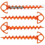 Orange Screw: The Ultimate Ground Anchor, Small -