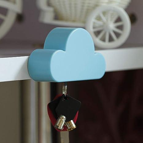 Facile It Cucine Usate.Blue Cloud Magnetico Da Parete Portachiavi Chiave Organizzatore