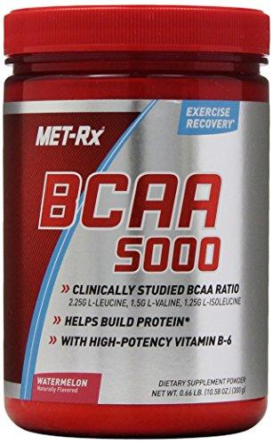MET-Rx BCAA Nutritional Drink Powder, Watermelon, 300 Gram