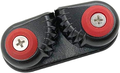 Noire KESOTO Taquet de Corde Taquet /à Came pour Bateau Aluminium