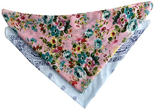 - Steve Madden Women's Classic and Floral Bandana Set, Cool, one Size