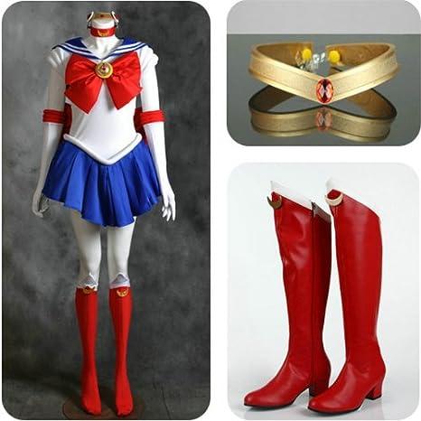 holran Sailor Moon Tsukino Usagi disfraces Set para Cosplay ...