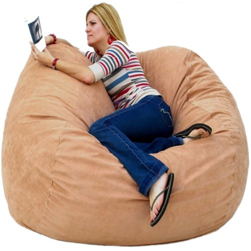 Cozy Sack 5 Feet Bean Bag Chair Large Chocolate Buy