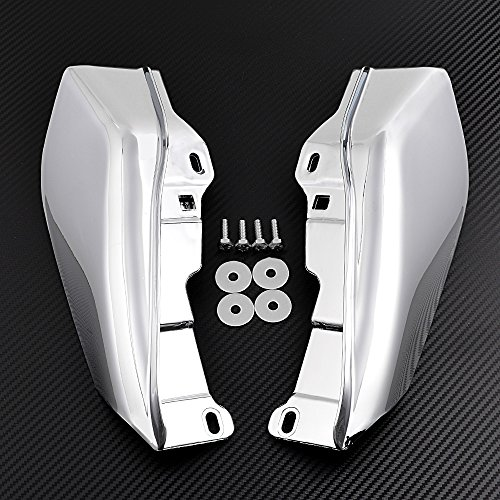 Price comparison product image 1 Pair Mid-Frame Air Deflectors For 2009-2017 Harley Road King Street Electra Tri Glide