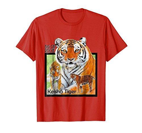 T-shirt Fighting Spirit (Fighting Spirit Keisha Tiger Tee Shirt)