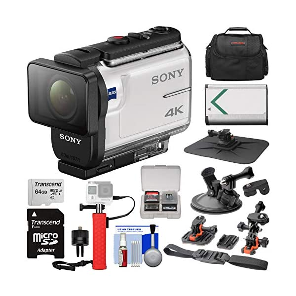 51UlWmkRHWL. SS600 - Sony Action Cam FDR-X3000 Wi-Fi GPS 4K HD Video Camera Camcorder with Action Mounts + 64GB Card + Battery + Power Hand Grip + Case + Kit Sony Action Cam FDR-X3000 Wi-Fi GPS 4K HD Video Camera Camcorder with Action Mounts + 64GB Card + Battery + Power Hand Grip + Case + Kit 51UlWmkRHWL