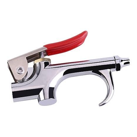 Asixx Limpiador de Pistola de Aire Golpe Plumero, Hecho de Aleación de Zinc, para