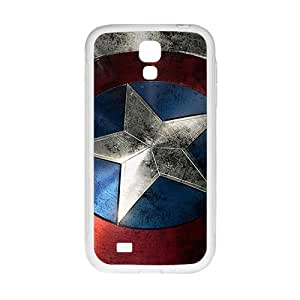 Captain America Design Hard Case Cover Protector For Samsung Galaxy S4
