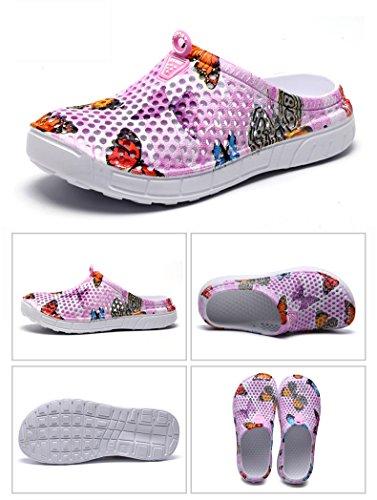 Unisexes Pantoufles Water Waterweight FZDX Summer à Séchage Garden Chaussures 777 Rapide Pink Sandales Shoes 51nntZq4