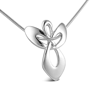 Amazon sterling silver guardian angel pendant necklace 16l sterling silver guardian angel pendant necklace 16quotl 4quot aloadofball Gallery
