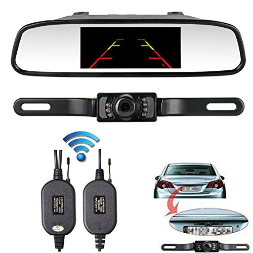 wireless car rear view camera kit - 5