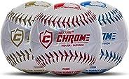 Franklin Sports MLB Soft Strike Chrome Tee Balls (3 Pack)