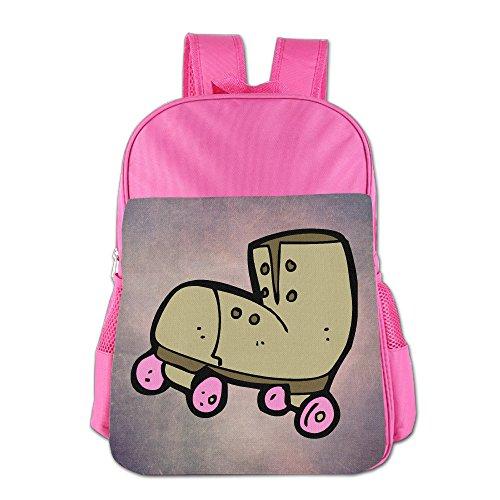 Vintage Roller Skate Cartoon Kid's School Shoulder Backpack Bag Waterproof Children - Train The Sunglasses Thomas