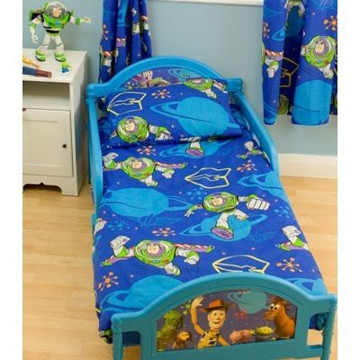 Childrens Kids Boys Toy Story Junior Bed Quilt Duvet Cover Bedding